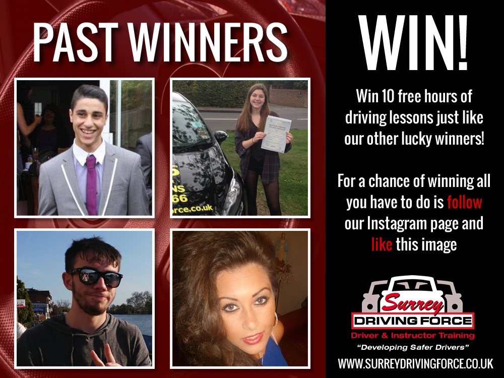 Win 10 Hours of FREE driving lessons